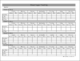 Blood Sugar Tracking Spreadsheet Tracking Blood Sugar Magdalene Project Org