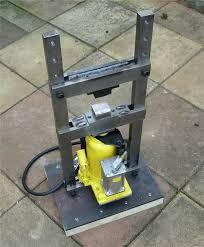 my latest project mini hydraulic press