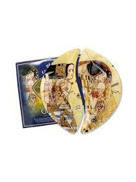 <b>Набор</b> из 2-х <b>тарелок Ожидание</b>/<b>Поцелуй</b> (<b>Г</b>. Климт) - цена 1 557 ...