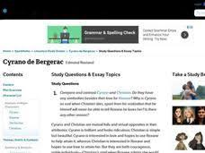 cyrano de bergerac lesson plans worksheets reviewed by teachers cyrano de bergerac study questions essay topics