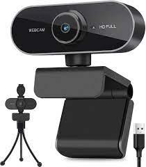 Webcam mit Mikrofon und Stativ, 1080P Kamera für PC: Amazon.de: Computer &  Zubehör