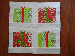 12 Days of Christmas' Block 5: Presents - Sew Sweetness & This post is part of the '12 Days of Christmas' Sampler Quilt Along series.  For tutorials on how to make the other blocks, please see the block  schedule ... Adamdwight.com