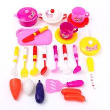 22pcsset plastic kids ba children toy kitchen utensils food throughout kids kitchen utensils