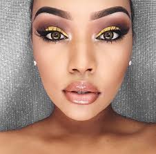 yellow eye makeup yellow makeup looks yellow makeup ideas yellow