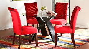 red dining room furniture black and red dining set far fetched daze table room chairs home