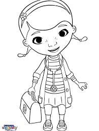 Doc Mcstuffins Coloring Pages Online Mcstuffin Disney Junior Sheets