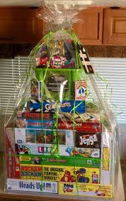 things to raffle off at a fundraiser family game night raffle basket room mom and pta pinterest