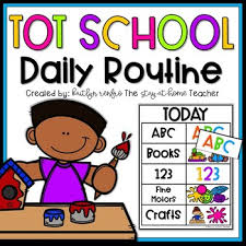 Routine Chart For Toddlers And Homeschool Preschool