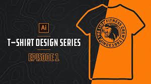 How To Make A Tshirt Design Using Illustrator How To Make T Shirt Designs In Illustrator Episode 1