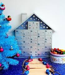 how i decorated my hobbycraft advent calendar