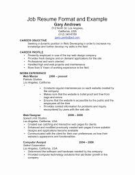 Resume In English Examples Curriculum English Example Best Of Resume Sample format Lovely Cv Vs 58