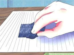how to remove pen ink ball remover image titled printer on paper step 2 from leather stain