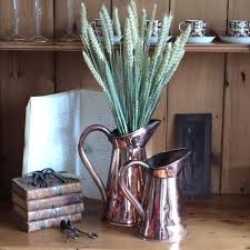 Decorative Jugs And Vases Victorian Copper Jugs By John Marston Decorative Flower Vases
