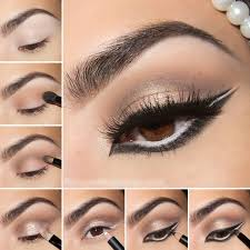 wintry exotic arabic makeup tutorial perhaps inspired by beyonce s eye makeup in superpower video