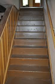 painted basement stairs. Beautiful Painted Stairs Painting Basement Basement Treads Risers Runner  Lighting In Painted Basement Stairs