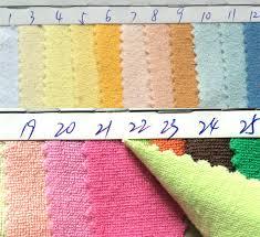 hot home textile cvc cloth towels fabric environmentally friendly absorbent cut pile cloth towel flannel buy environmentally friendly