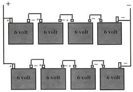 6 Volt Battery Wiring Diagram For Coach Positive Ground Ignition