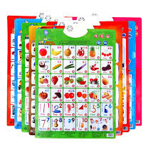 Baby Learning Chart Pre Learning Baby Kids Education Chart Pronunciation Sound