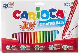 Набор <b>фломастеров Carioca Joy</b> 24 цвета — купить в интернет ...
