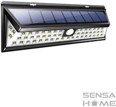 Sensahome Solar Lamp 54 Led Met Bewegingssensor Voor