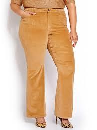 L L Baby Flare Corduroy Pants Addition Elle