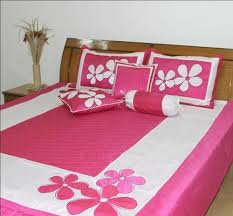 Designer Bedding  Cotton Bedding Spread Set with Embroidery Manufacturer  from Noida