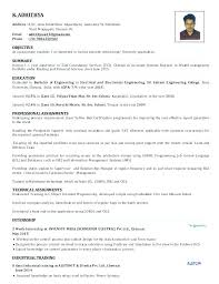 It Manager Resume Format Project Sample Best Of Example Hr ...
