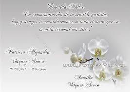 Tarjetas Condolencias Agradecimento Misa Conmemoracion 2018 10 13 En