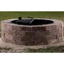 outdoor fire pit kits round brick fire pit kit round designs
