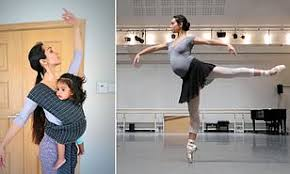 Ballet Dancer Weight Chart Ballerina Recorded The Evolution Of Her Pregnancy With