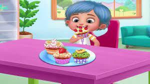 Trò Chơi Nấu Ăn Và Làm Bánh Vui Nhộn – Game Vui Cho Bé - YouTube
