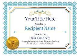 Dance Award Certificate Free Ballet Certificate Templates Add Printable Badges