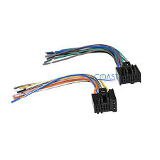radio wiring harness adapter chevy solidfonts wiring harnesses at crutchfield com