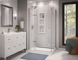 athena 42 x 34 corner door and base shower kit at menards athena 42 x 34