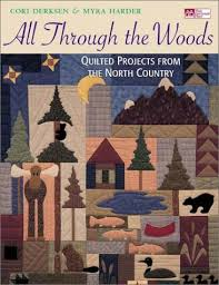 PLANET PATCHWORK QUILTING BOOKBRIEFS & All Through the Woods: Quilted Projects from the North Country Adamdwight.com