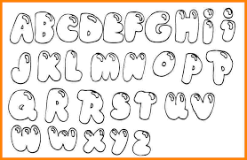 bubble letters coloring pictures
