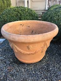tall terracotta planter. Plain Planter These Lovely Classical Terra Cotta Planters Are Adorned With Laurel Swags  Tassels And Petite On Tall Terracotta Planter