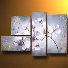delicate orchids modern canvas art wall decor floral oil painting wall art with stretched on orchid canvas wall art with reviews delicate orchids modern canvas art wall decor floral oil