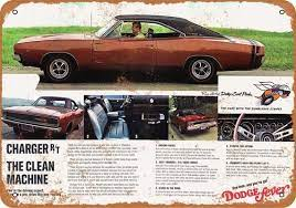 1968 Dodge Charger R T 4 Vintage Look Metal Sign Or Matted Etsy In 2021 Dodge Charger 1968 Dodge Charger Mopar Muscle Cars