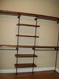black pipe closet diy projects corner shelf shelving unit wheels ikea wall cabinets small white bookcase