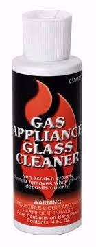 Cleaning Gas Fireplace Glass Windows Clean Ceramic Logs Fireplaces Fireplace Glass Cleaner