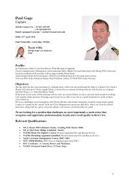 Yacht Captain Resume Sample sample vet tech resumes Savebtsaco 1