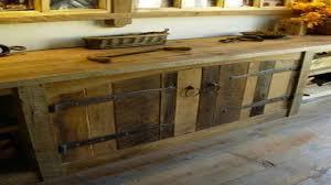 Barn Wood Kitchen Cabinets Sliding Door Bathroom Cabinet Rustic Barnwood Kitchen Cabinets