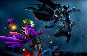 batman joker hd 4k artwork artist