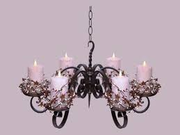 real candle chandelier rectangular pillar candle chandelier