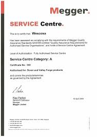 Welding Machine Calibration Certificate Sample Best Of Template