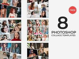 Template For Picture Collage 8 Free Photoshop Collage Templates By Faraz Ahmad For