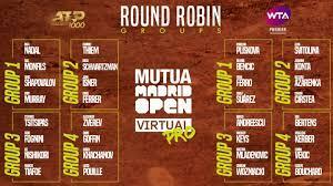 Mutua Madrid Open Virtual Pro competition to begin Monday