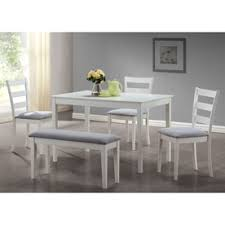 gray dining room table. Monarch Specialties White Dining Set With Rectangular Table Gray Room N