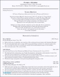 Rn Resume Sample New Registered Nurse Resume Template Fresh